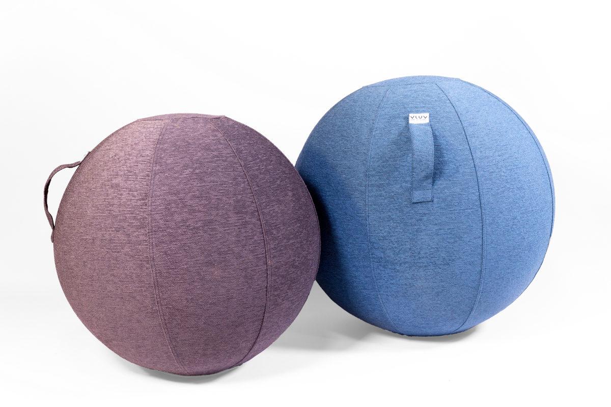 boules gonflables en tissu avec poignées, de la marque VLUV, agence Parade