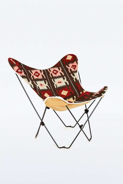 fauteuil pliant ethnique, agence Parade