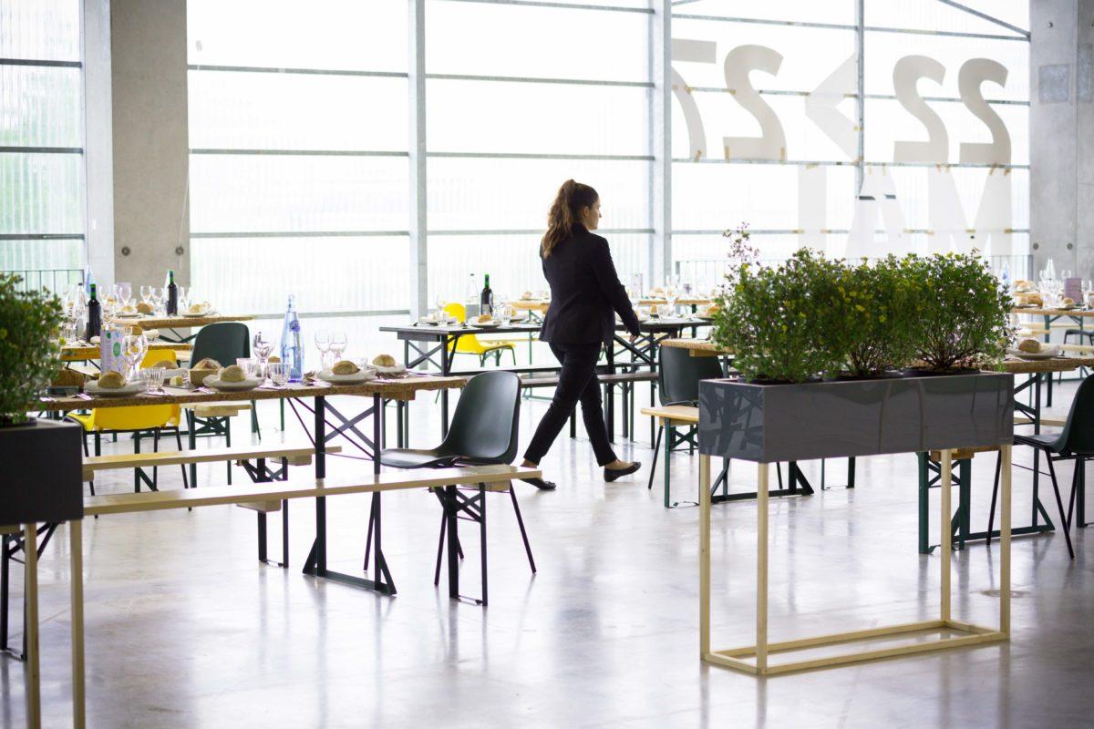 espace restauration, conversation 2018, iAdvize, agence Parade