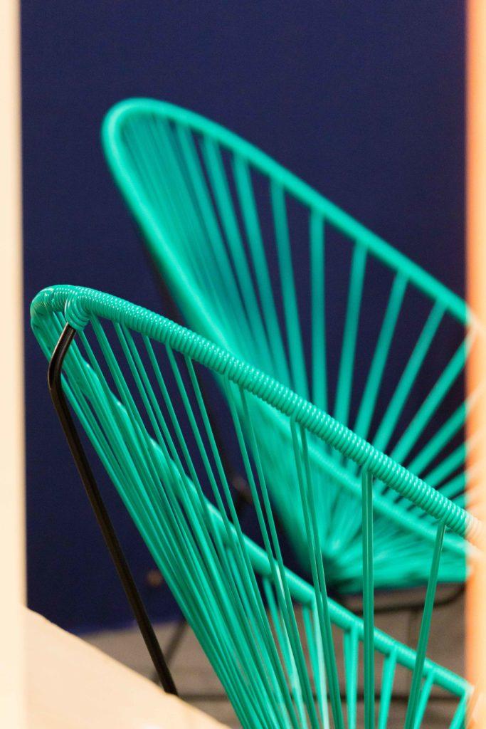 mobilier pour stand, Atlanbois, fauteuil Acapulco, agence Parade