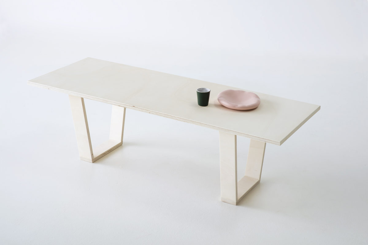 table basse rectangulaire, agence PARADE