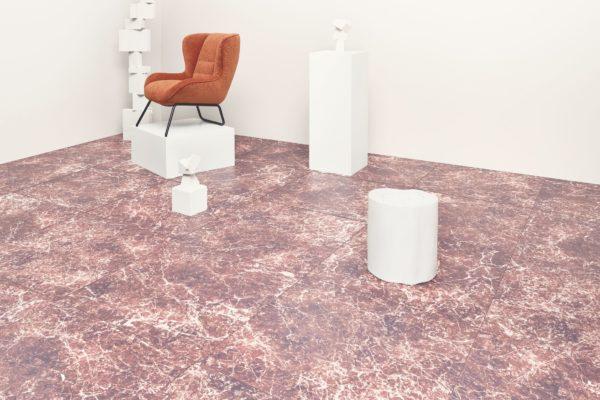 stele en terrazzo mobilier